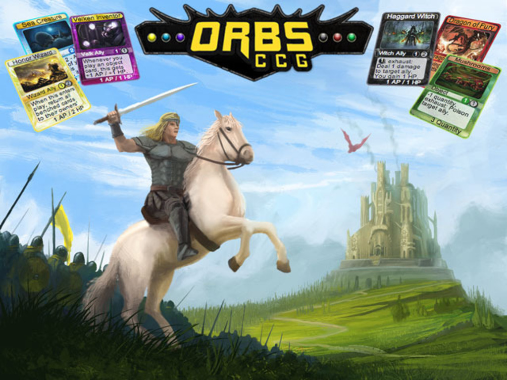 Orbs CCG, the online asynchronous collectible card game!'s video poster