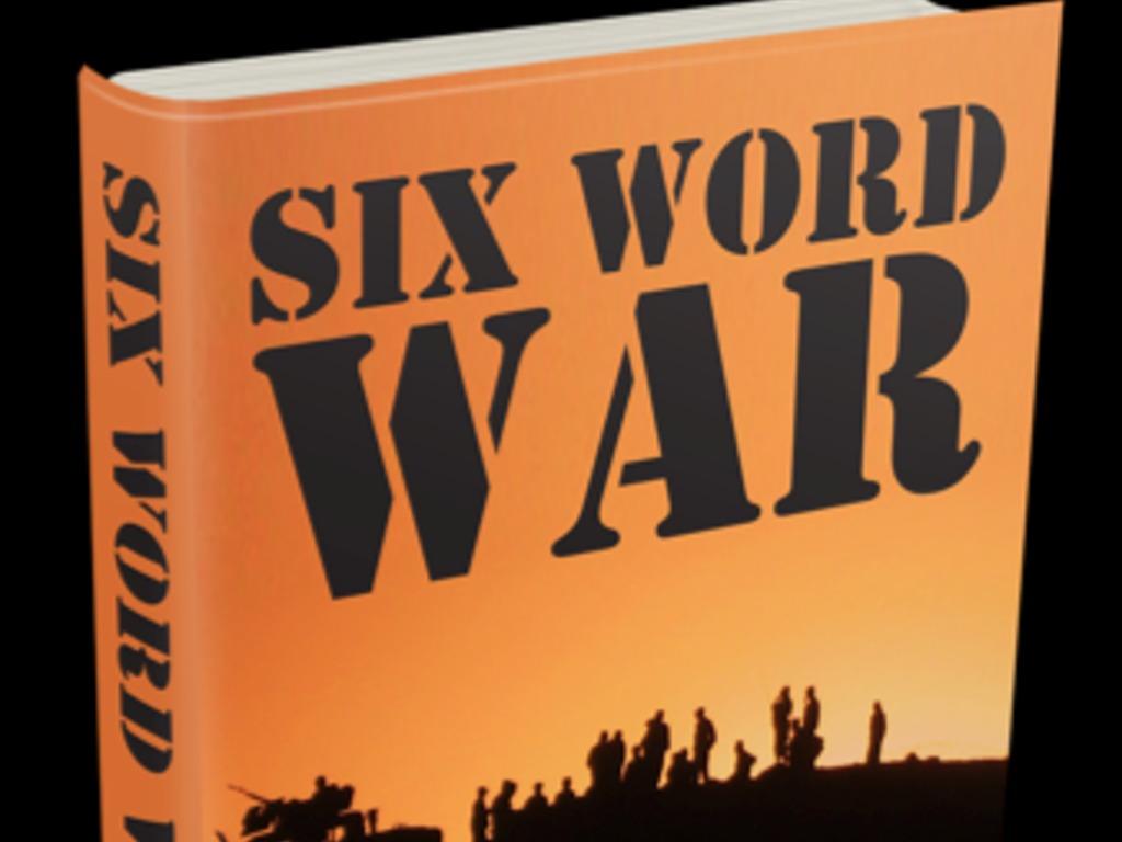 Six Word War - Our nation's first crowdsourced war memoir's video poster