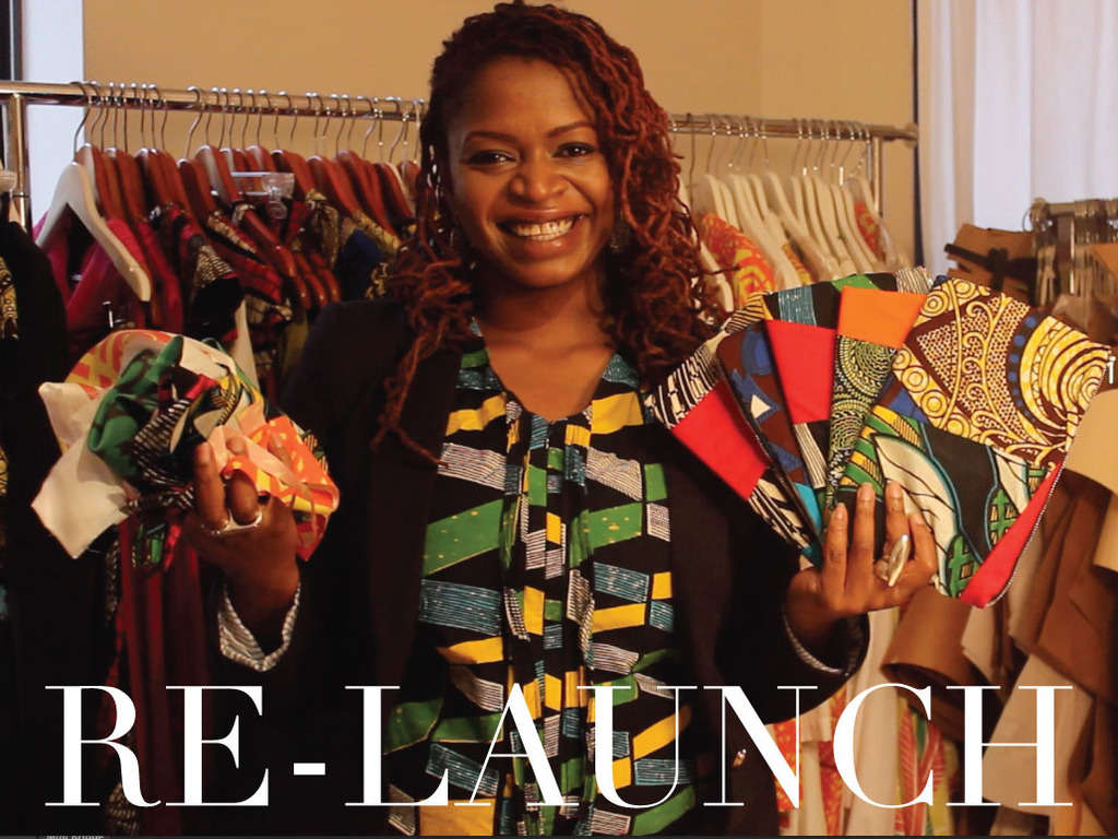 Re-Launch - Handmade Clutches by MamAfrica & Modahnik's video poster