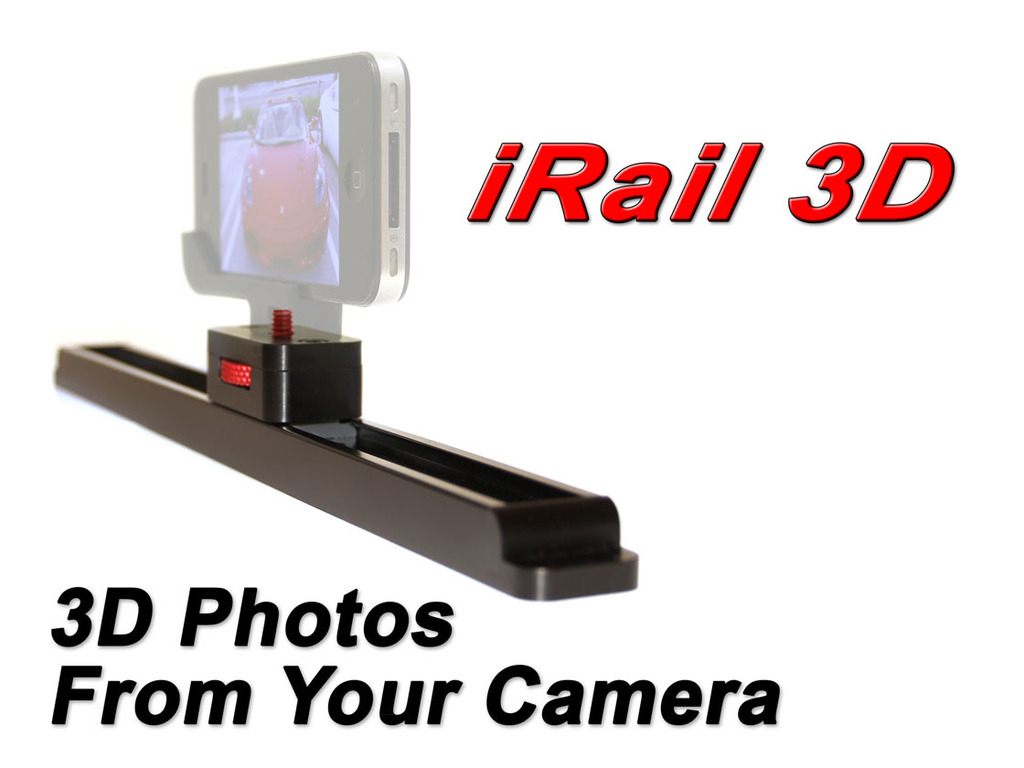 iRail 3D - A 3D Photo System for iPhone 4 & Compact Cameras's video poster