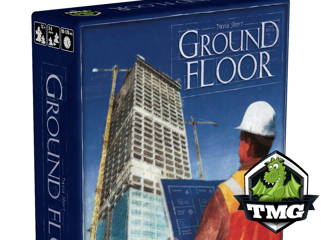 GROUND FLOOR - A business building board game's video poster