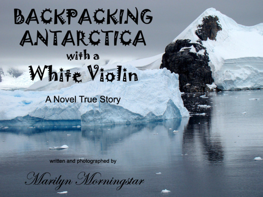 'Backpacking Antarctica with a White Violin''s video poster
