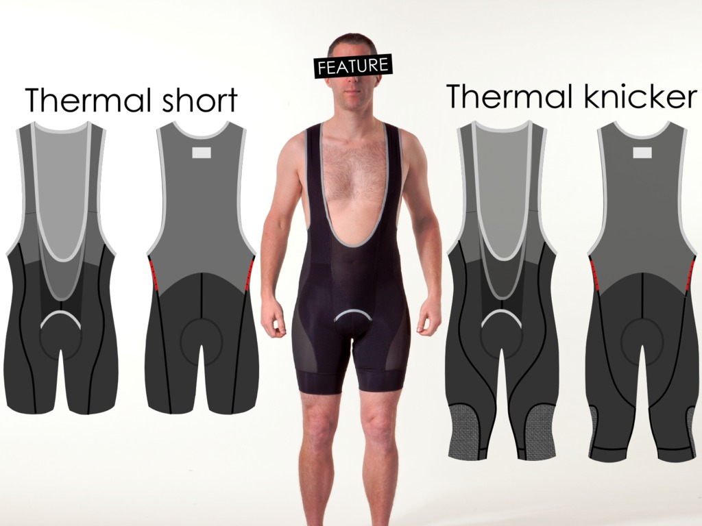 THERMAL SHORT & KNICKER Mountain Bike Bib-Liners's video poster