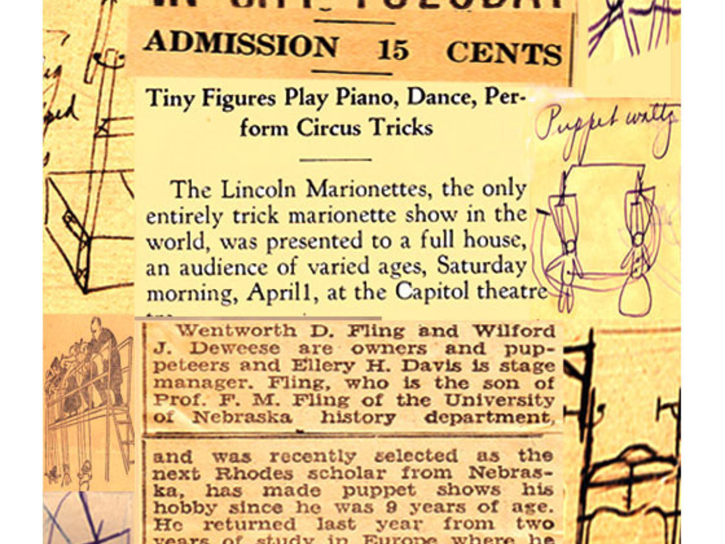 Antique Marionette Theater & The Million sMile March's video poster