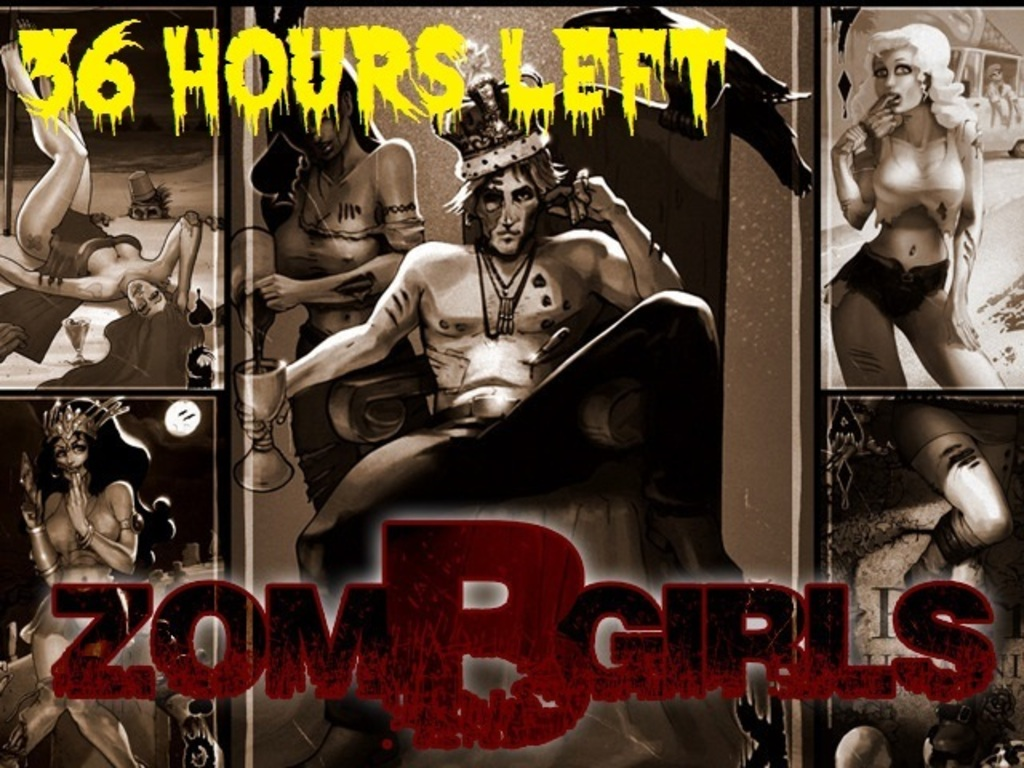 """""""ZOM-B-GIRLS"""" Zombies Pin-Up Playing Cards (Canceled)'s video poster"""