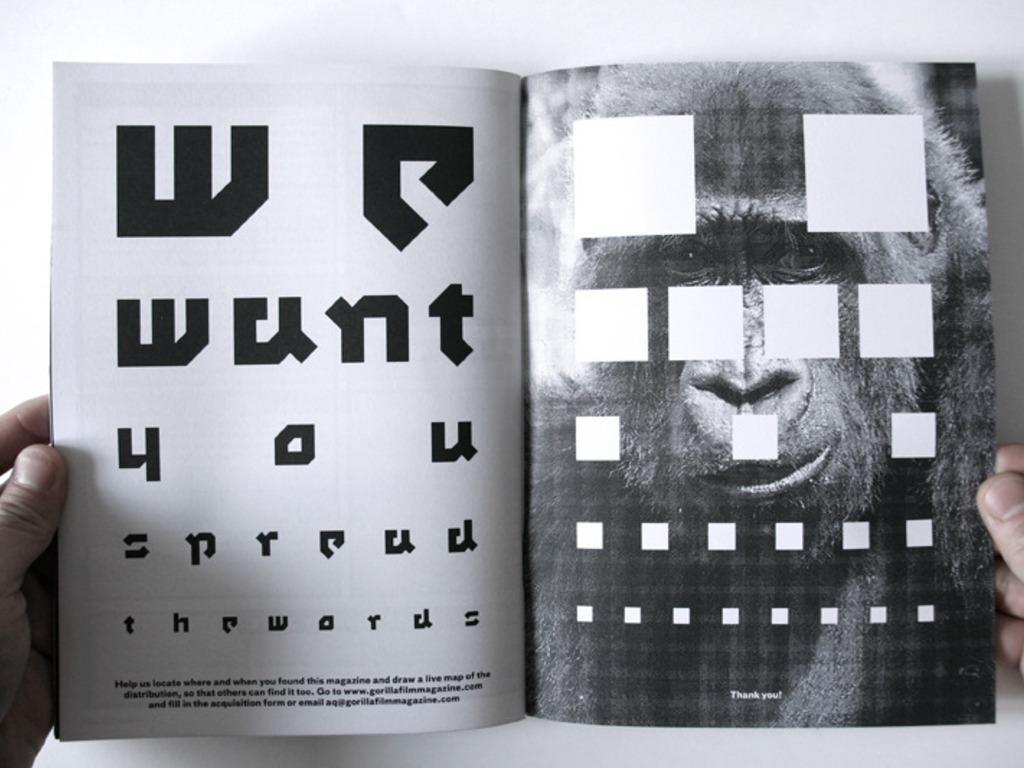 Gorilla Film Magazine's video poster