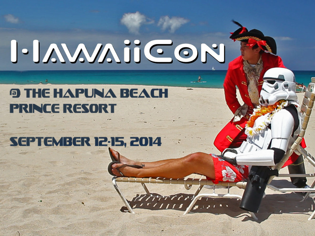 Hawaii Con's video poster
