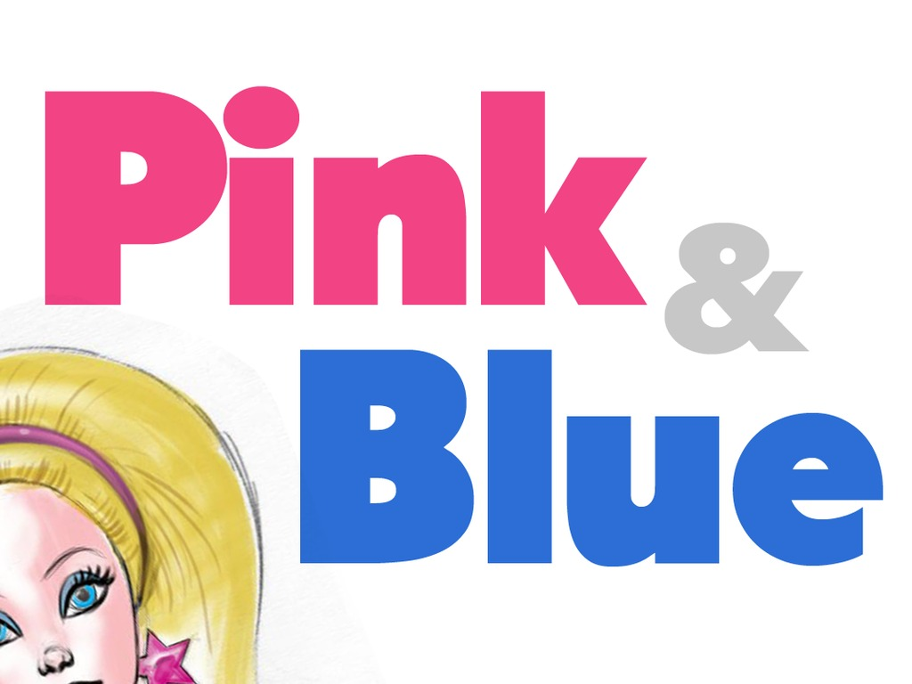 Pink & Blue's video poster