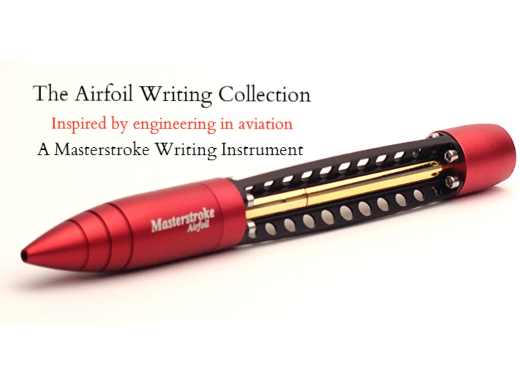 Airfoil: The Beautiful Aviation Inspired Twist Ballpoint Pen's video poster