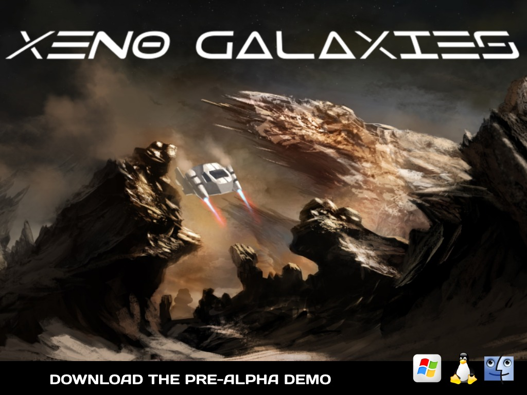 Xeno Galaxies - Space Trader, Sandbox, FPS & RPG (Canceled)'s video poster