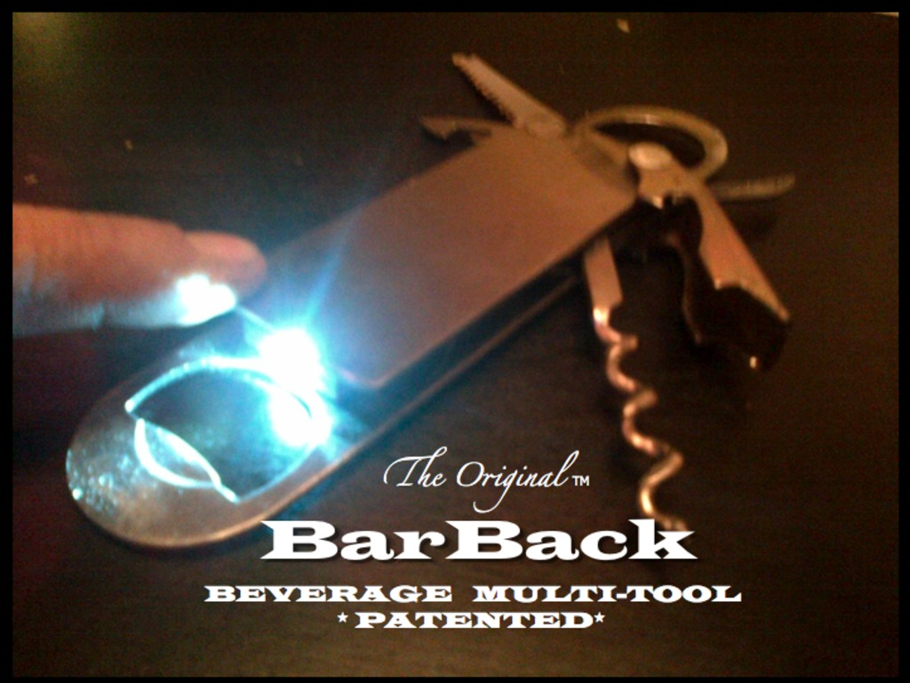 "The Original BarBack Multi-Tool ""9 Beverage Tools in 1""'s video poster"