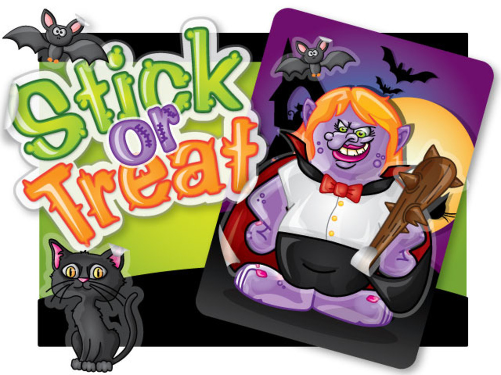 Stick-or-Treat: Halloween Sticker Trading Card Packs's video poster