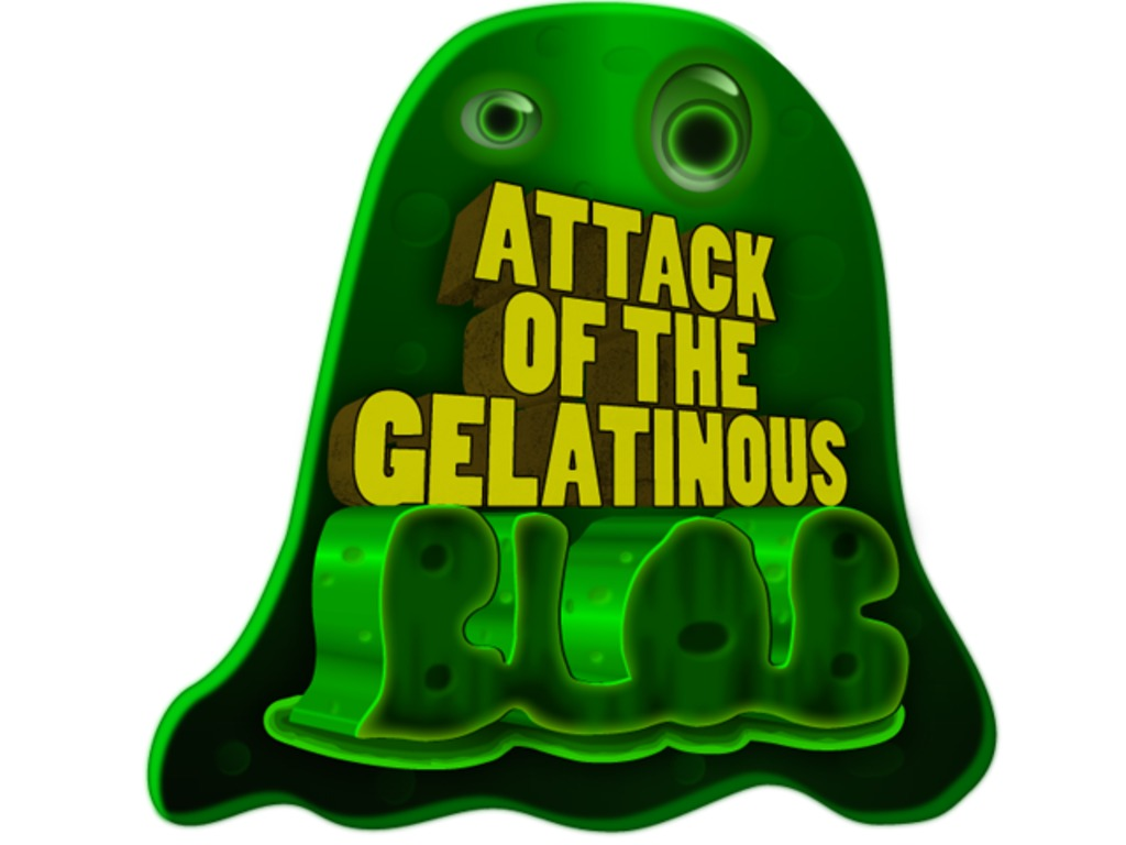 Attack of the Gelatinous Blob: RTS game meets tower assault's video poster