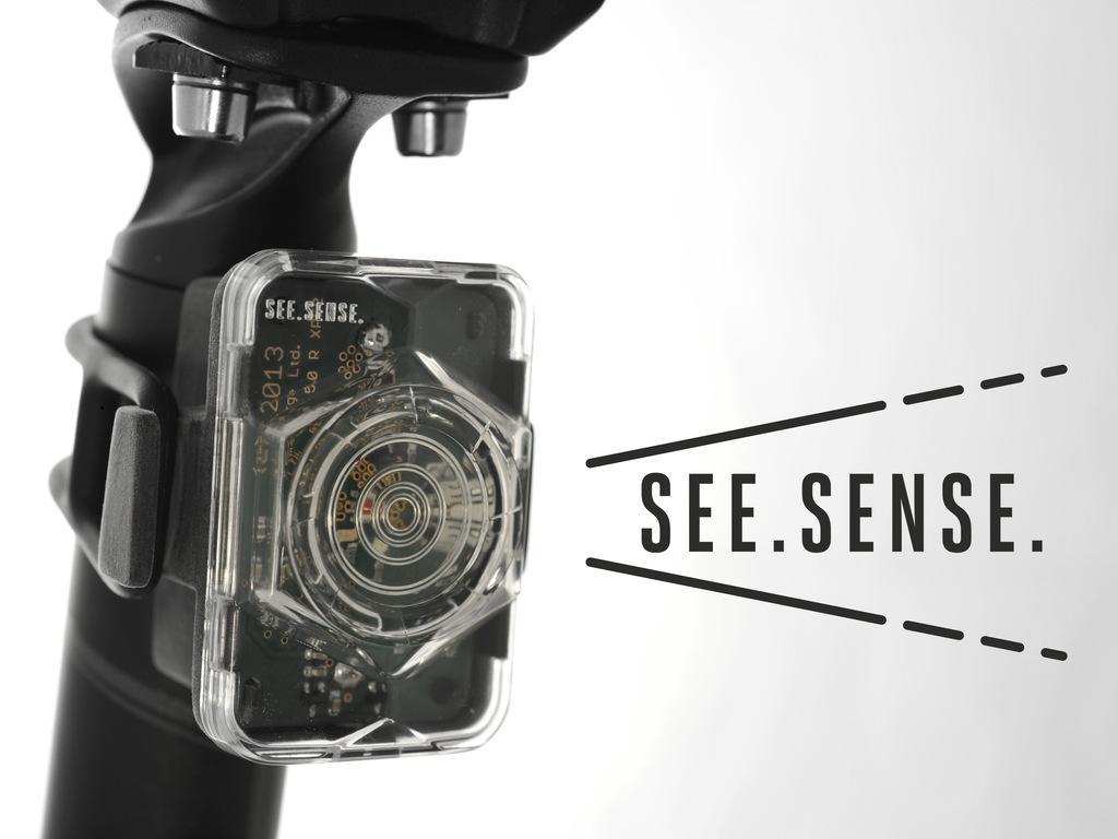 See Sense : The intelligent bike light with road sense.'s video poster