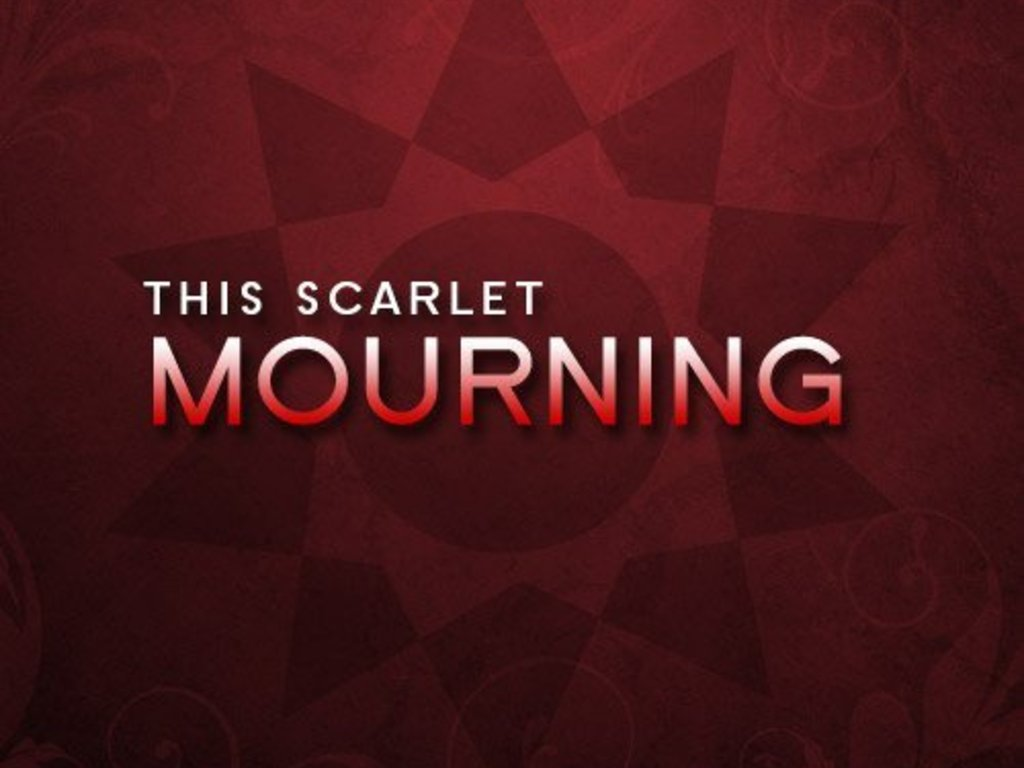 This Scarlet Mourning Debut Album's video poster