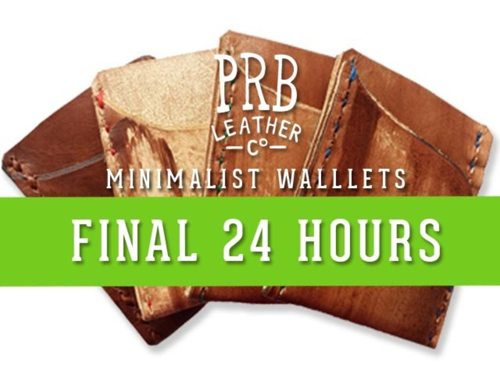 Minimalist Wallets by PRB Leather Co's video poster