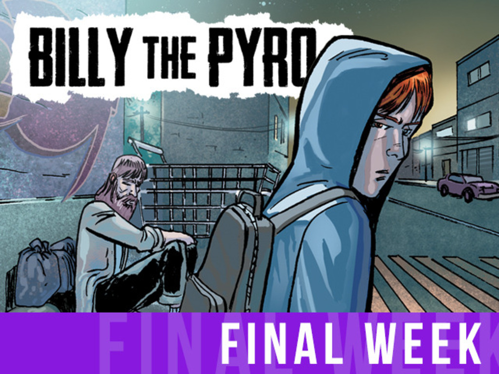 Billy the Pyro: Issue 1's video poster
