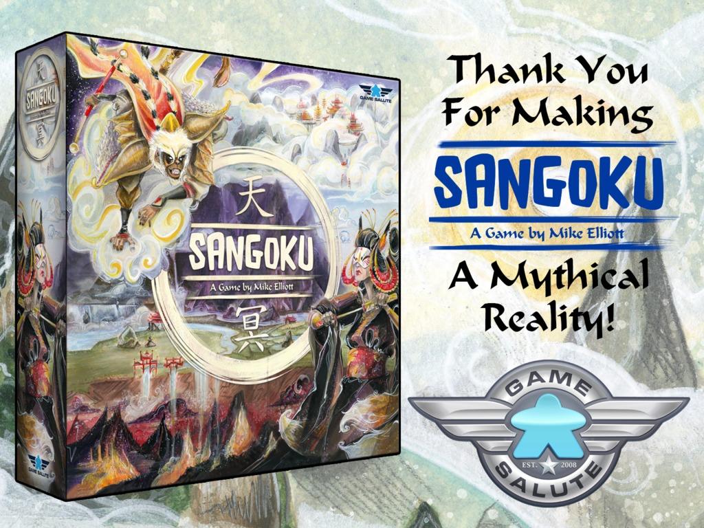 Sangoku by Mike Elliott's video poster