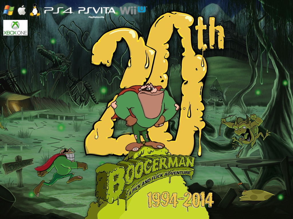 Boogerman 20th Anniversary: The Video Game's video poster