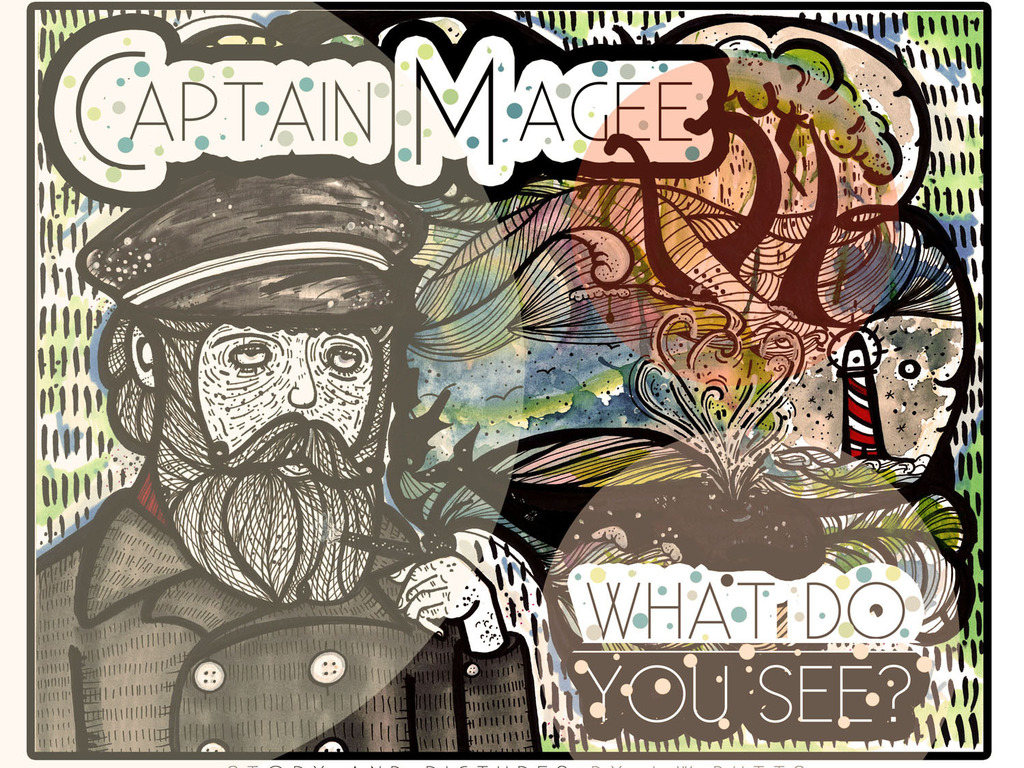 """""""Captain Magee, What Do You See?""""- A children's book.'s video poster"""
