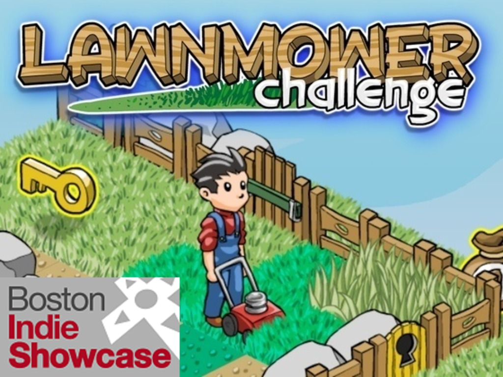 Lawnmower Challenge - Indie Puzzle Game's video poster