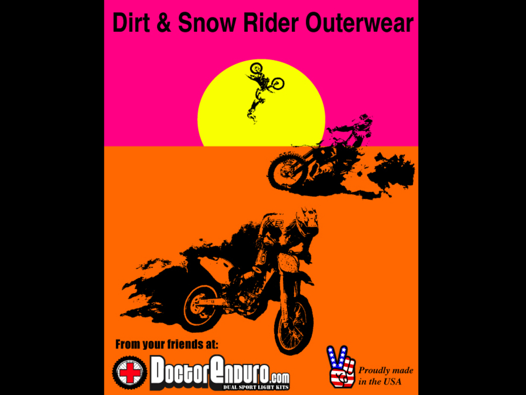 Doctor Enduro - US Made Outerwear's video poster