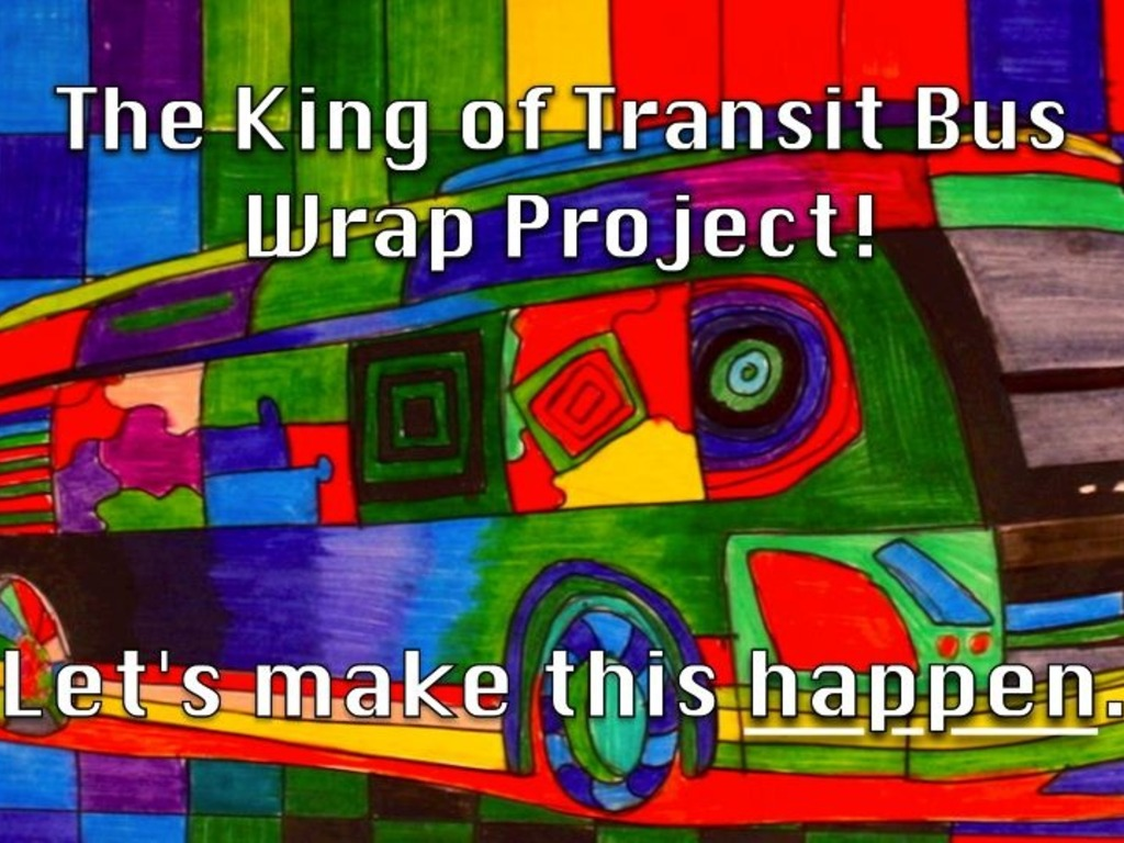 The King of Transit Bus Wrap Project's video poster