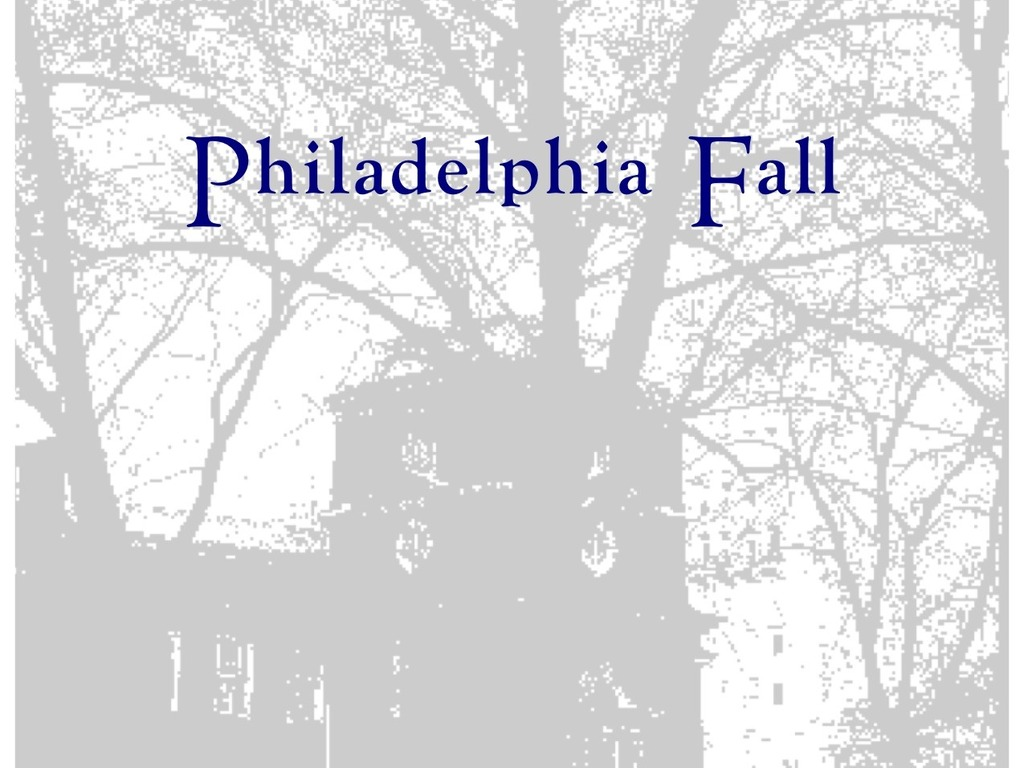 """Philadelphia Fall"" - a romantic comedy feature film's video poster"