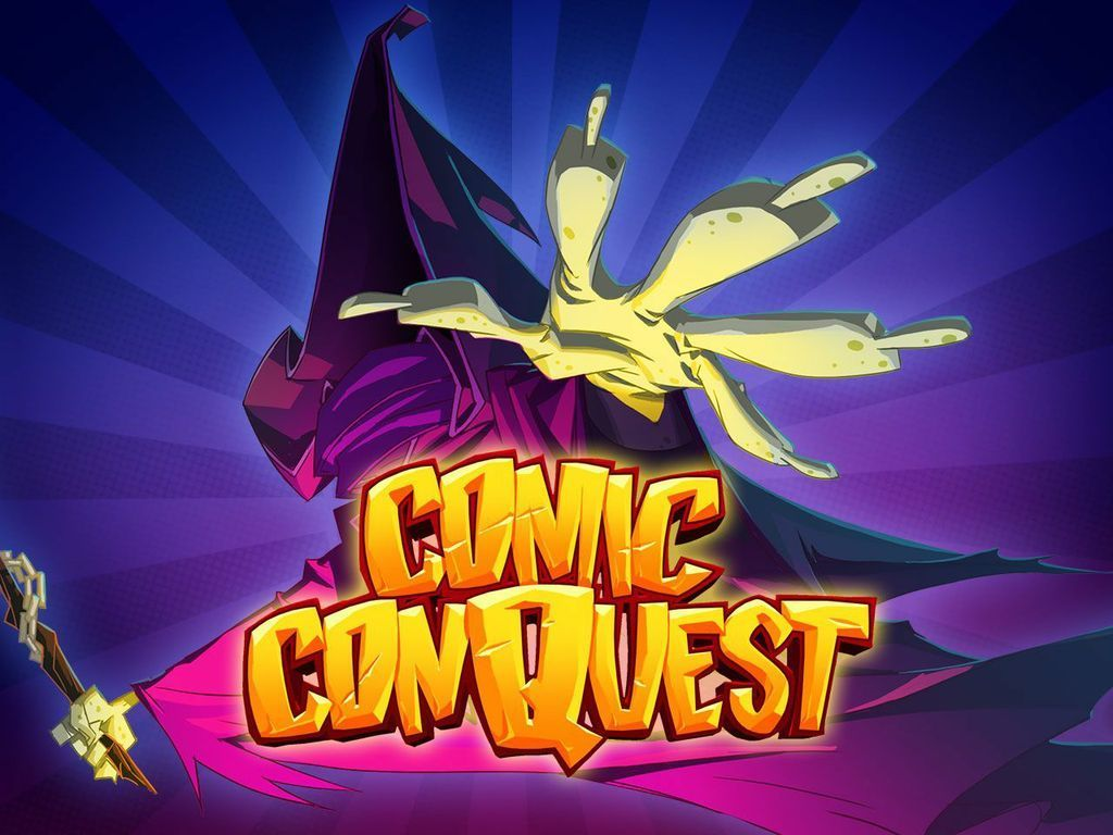Comic ConQuest's video poster