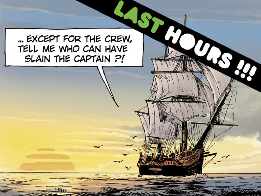 THE WILL OF CAPTAIN CROWN - A hardboiled pirate comic book !'s video poster