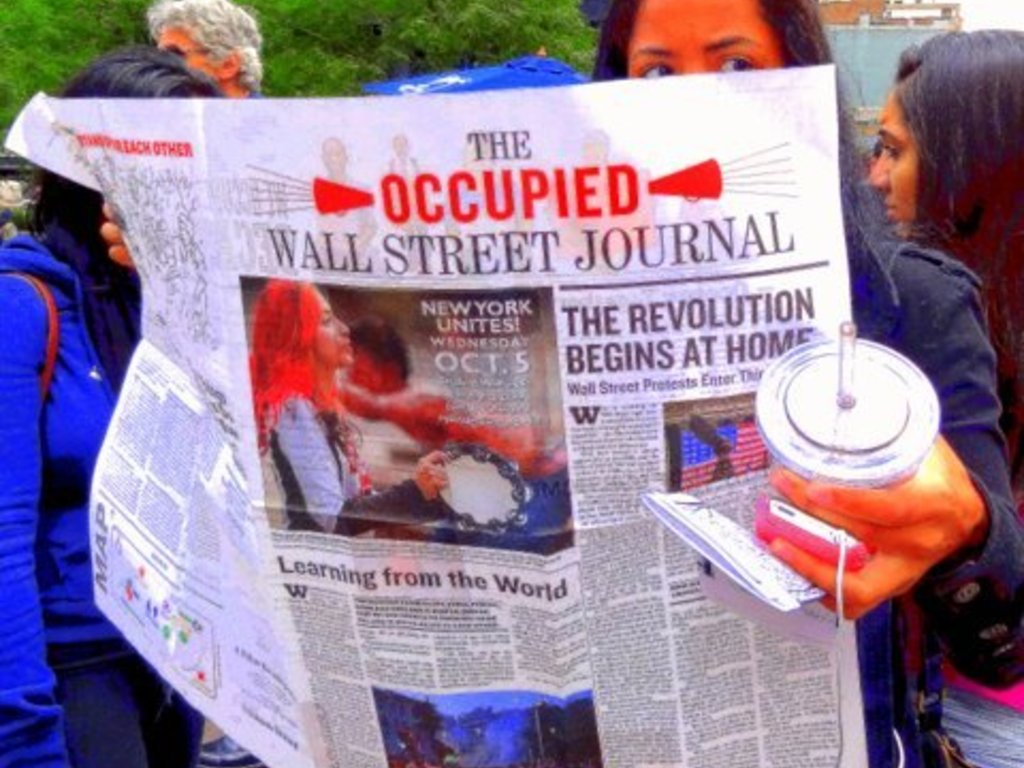 99% OCCUPY WALL STREET PARK- A Portrait Journal's video poster