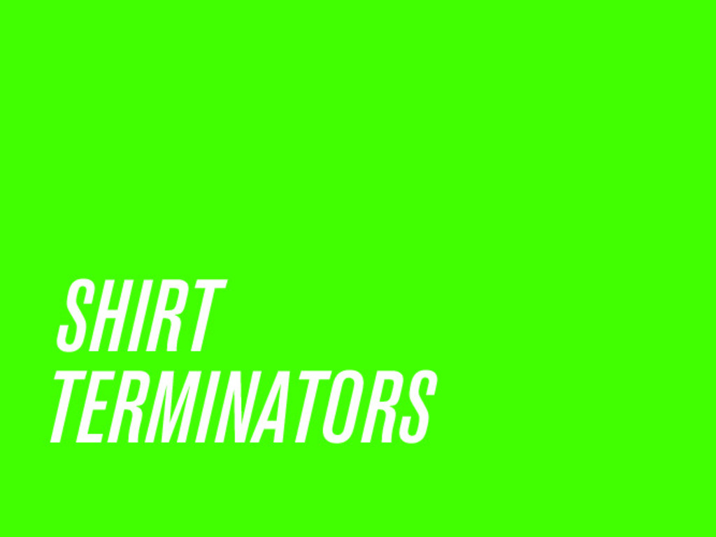 Please Allow Me To Terminate Your Shirt's video poster