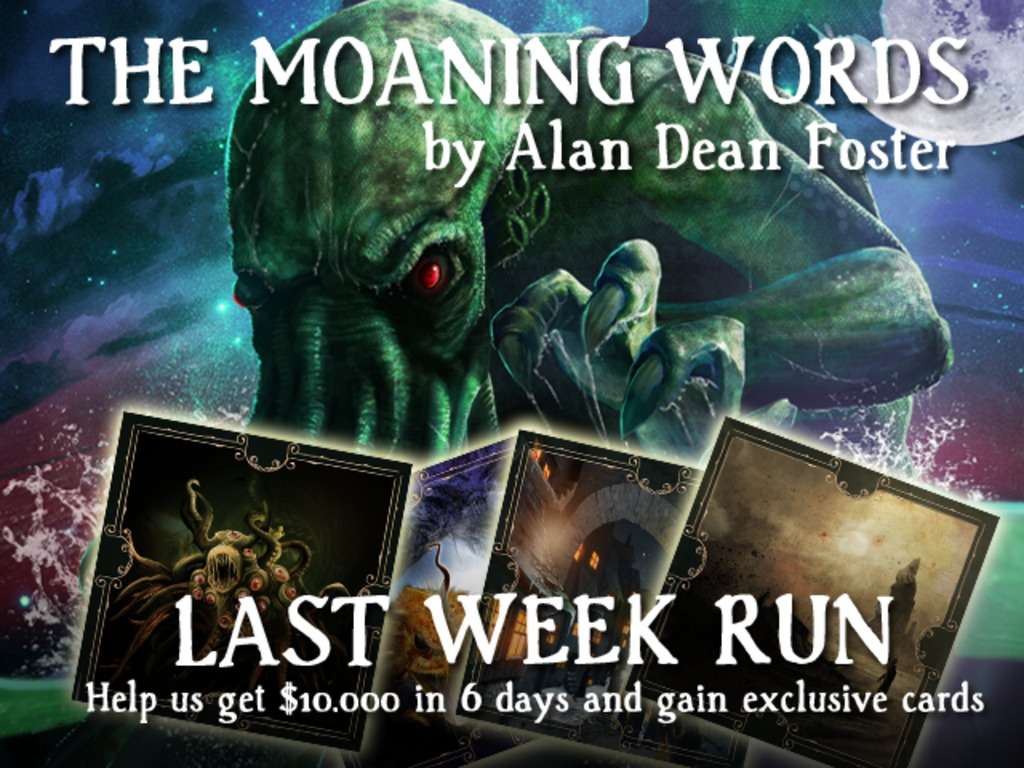 The Moaning Words - An investigation into the Cthulhu Mythos's video poster