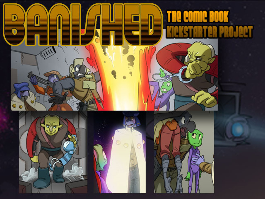 Banished the Comic Book's video poster