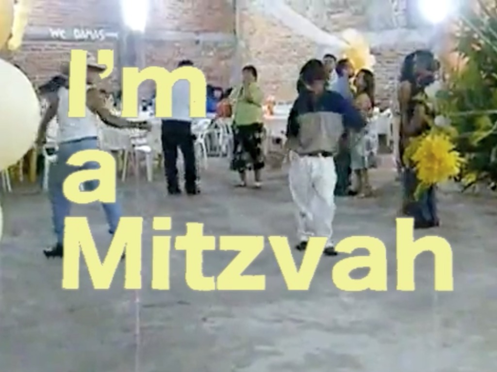 I'm a Mitzvah's video poster
