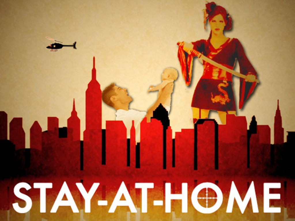 STAY - AT - HOME's video poster