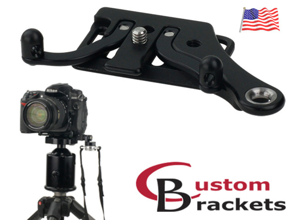C-Plate: Camera Plate for Sling Strap / Holster & Tripods's video poster