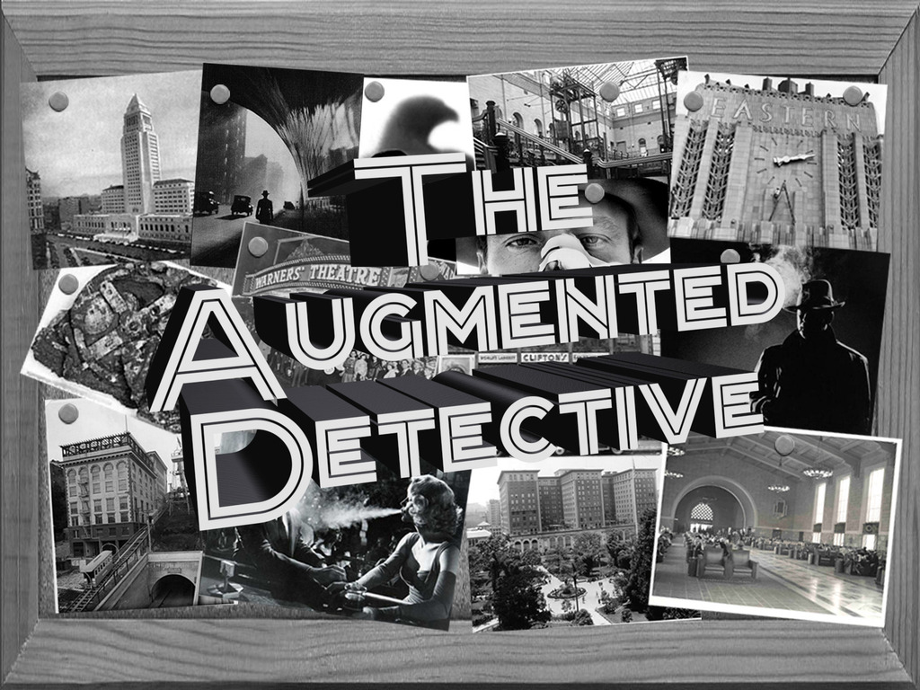 The Augmented Detective: An Immersive Noir Adventure's video poster