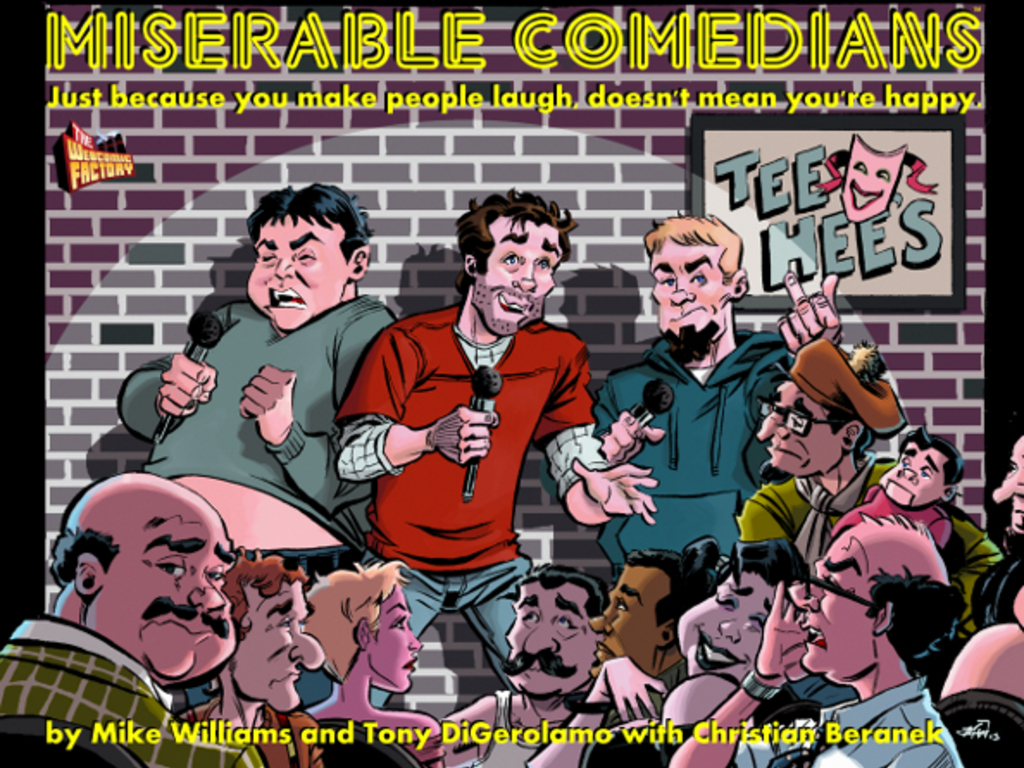 Miserable Comedians's video poster