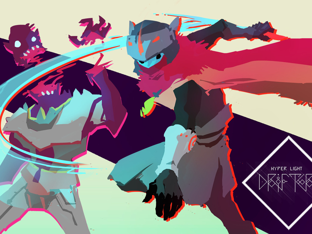 Hyper Light Drifter's video poster