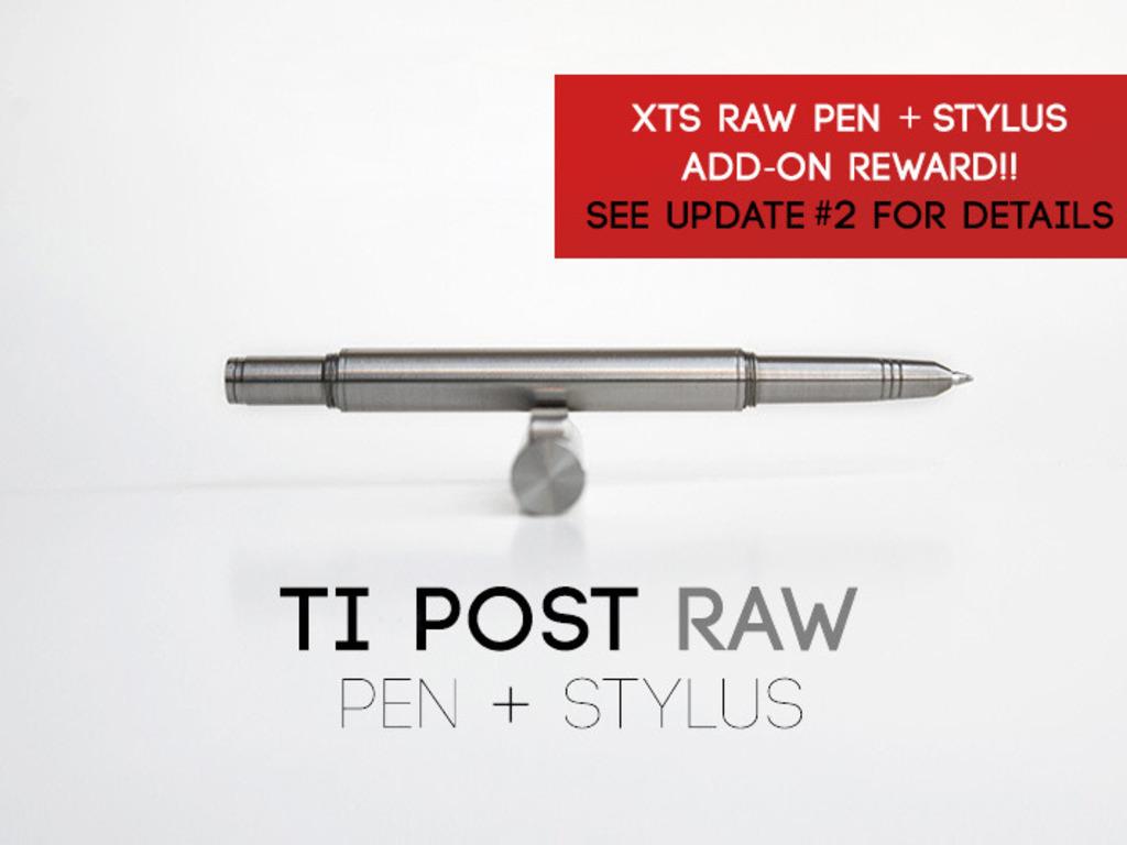 Ti POST RAW Pen + Stylus's video poster