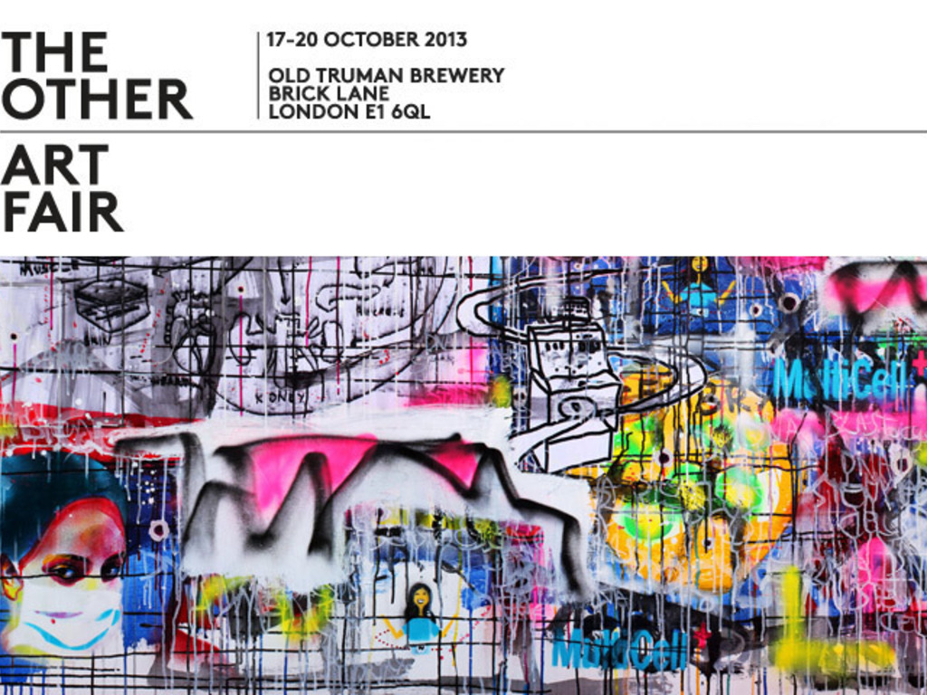 Exhibition at The Other Art Fair, Brick Lane, London's video poster