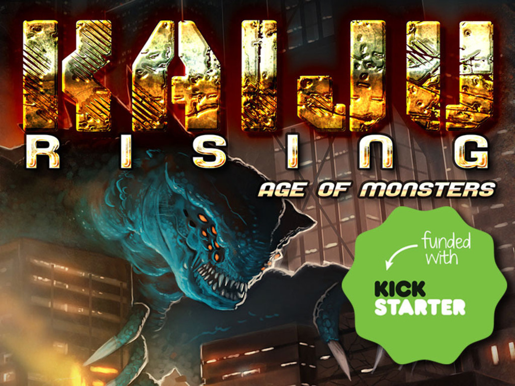 KAIJU RISING: Age of Monsters Anthology's video poster