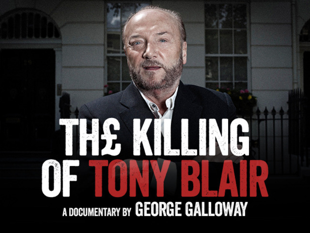 The Killing of Tony Blair's video poster