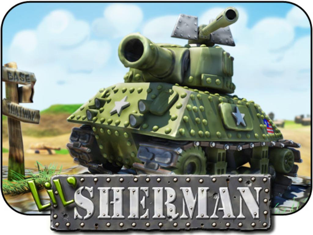 lil' Sherman's video poster