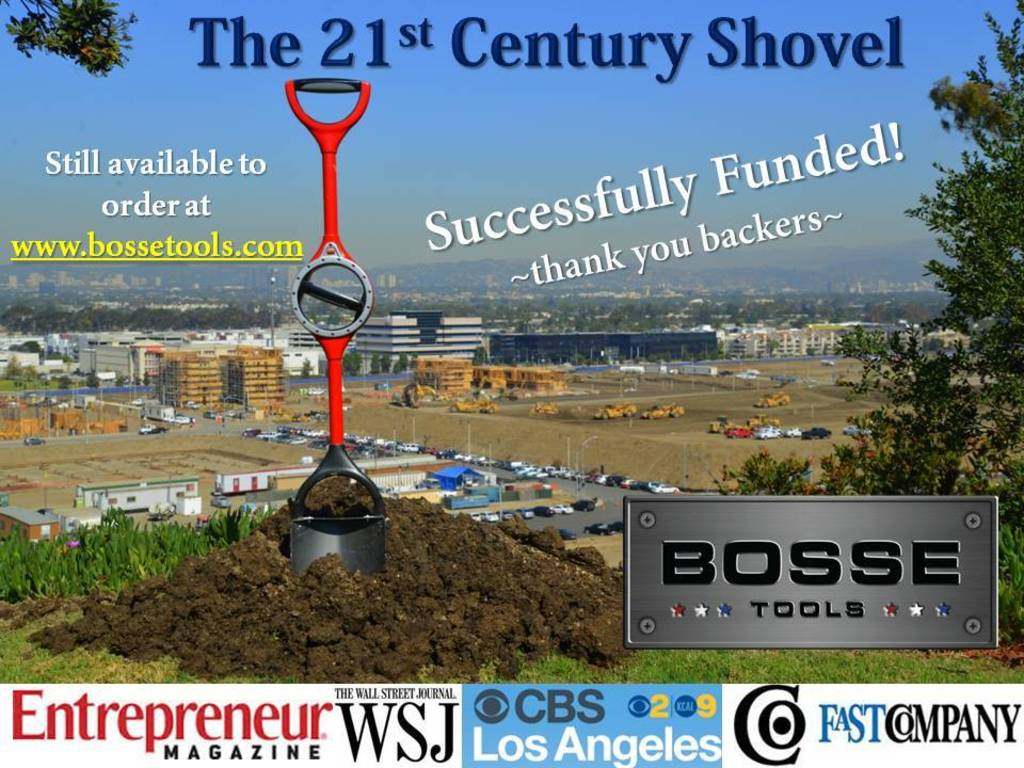 The Ergonomic Shovel by Bosse Tools: Made in America's video poster