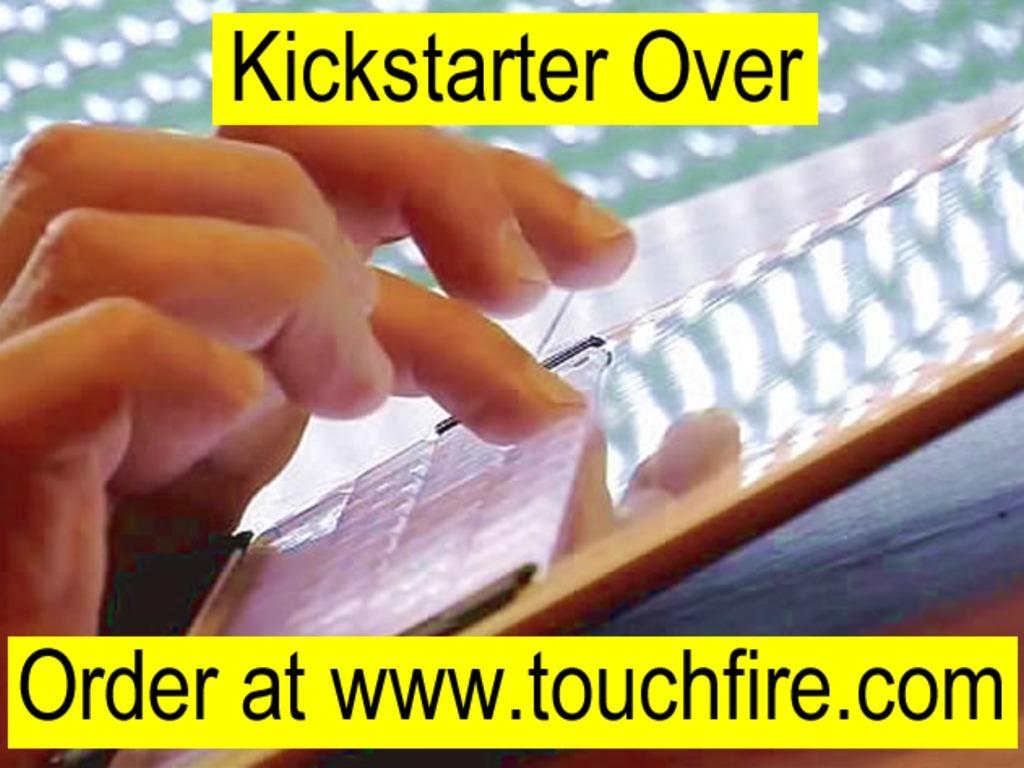Touchfire Keyboard & Case for iPad mini, iPad Air, iPad 2-4's video poster