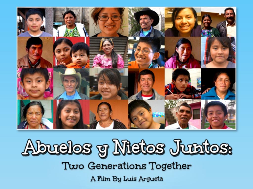 Abuelos y Nietos Juntos: Two Generations Together's video poster
