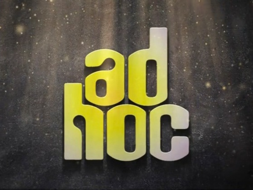Ad Hoc's video poster