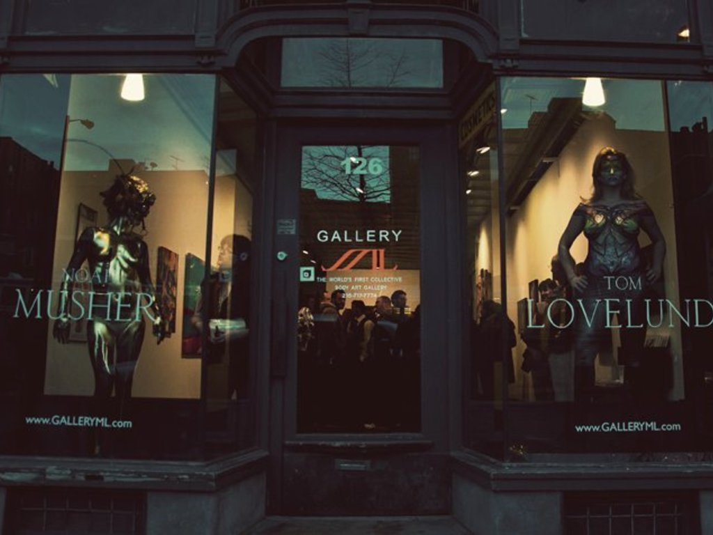 GALLERY ML - The World's First Collective Body Art Gallery's video poster